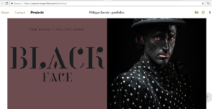 Portofolios Blackface Phillipe-Savoir